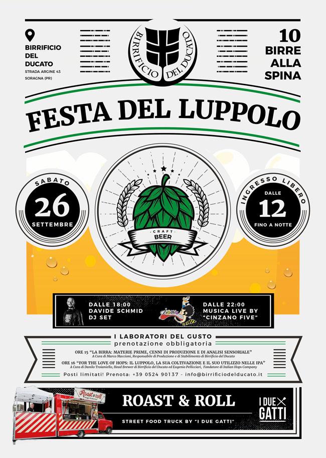 Sabato 26 settembre Festa del Luppolo in Birrificio